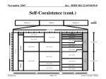 self coexistence cont122