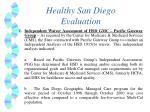 healthy san diego evaluation