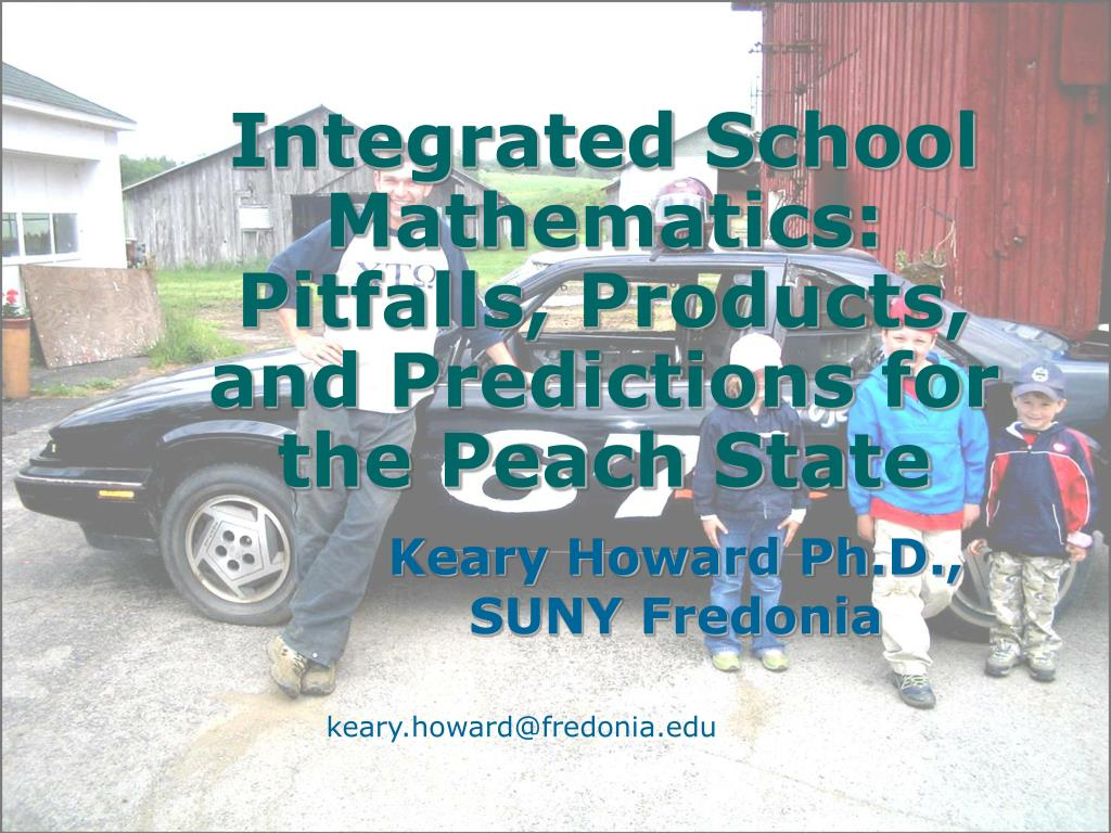 integrated school mathematics pitfalls products and predictions for the peach state l.