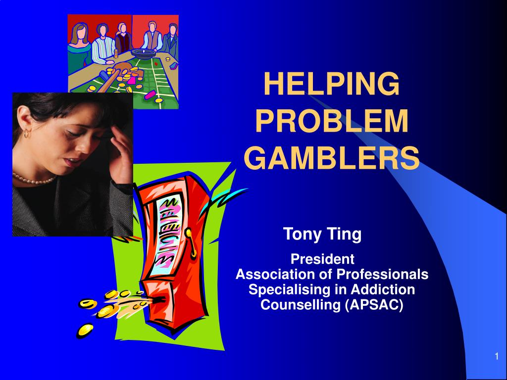 helping problem gamblers l.