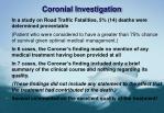 coronial investigation