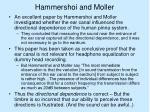 hammershoi and moller