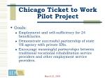 chicago ticket to work pilot project20