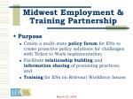 midwest employment training partnership