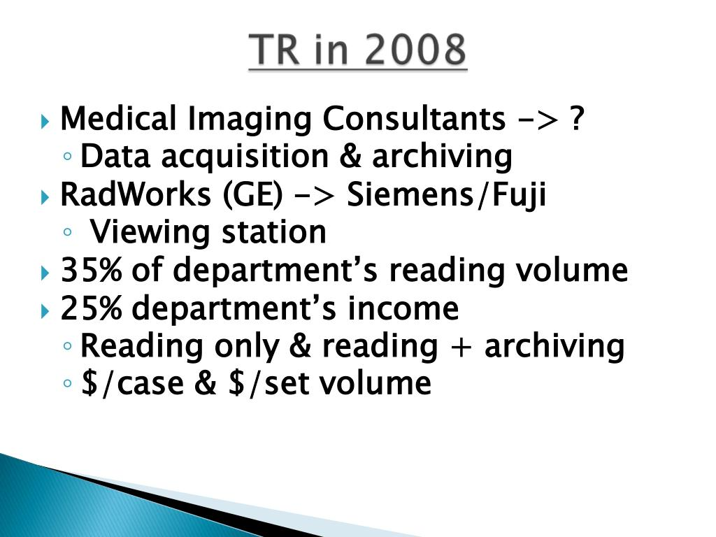 Medical Imaging Consultants -> ?