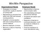 win win perspective