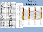 core log integration