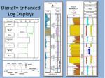 digitally enhanced log displays