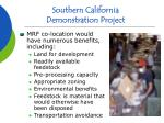 southern california demonstration project12