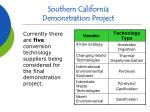 southern california demonstration project15