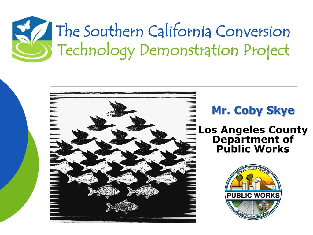 the southern california conversion technology demonstration project l.