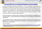 situaci n de las microfinanzas en ecuador