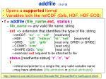 addfile 1 of 3