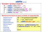 addfile 2 of 3