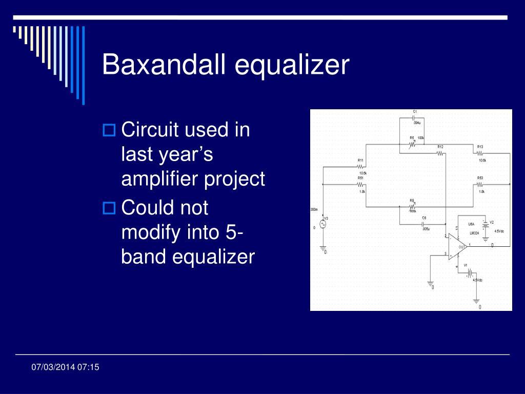 Baxandall equalizer