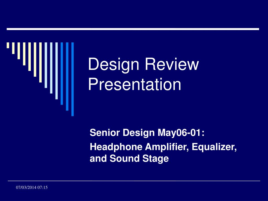 senior design may06 01 headphone amplifier equalizer and sound stage l.