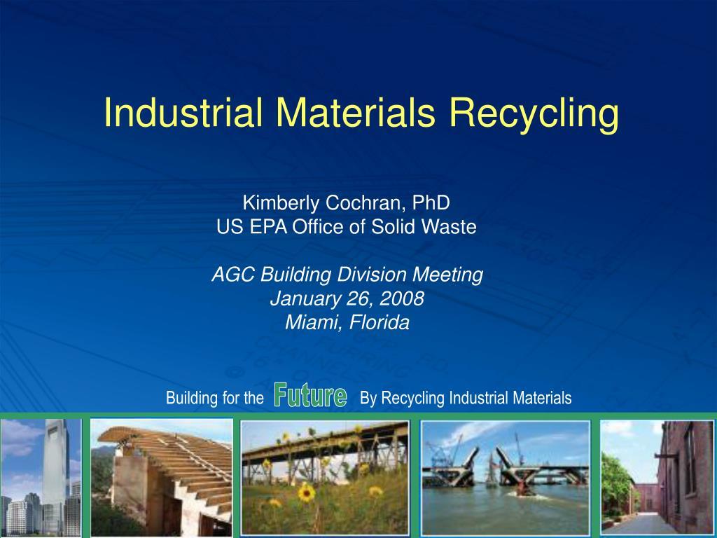 industrial materials recycling l.