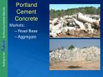 portland cement concrete