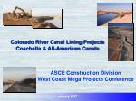 colorado river canal lining projects coachella all american canals