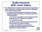 quality assurance bss interim edition5
