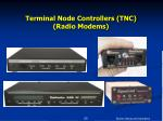 terminal node controllers tnc radio modems