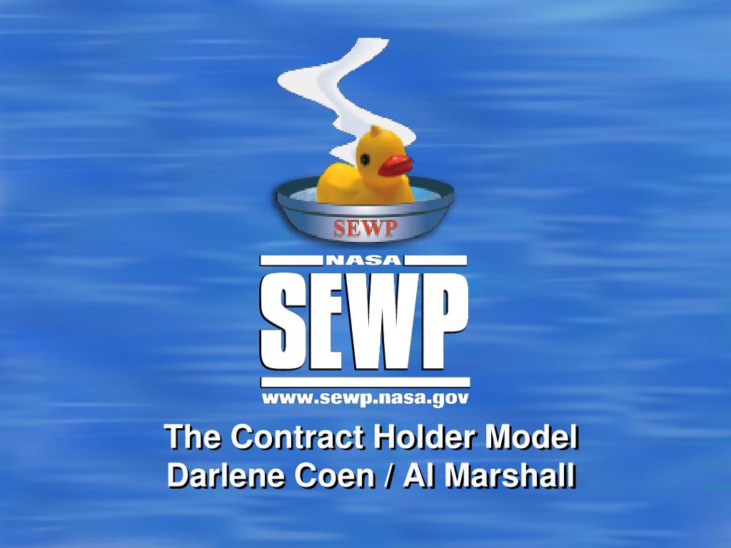 the contract holder model darlene coen al marshall l.