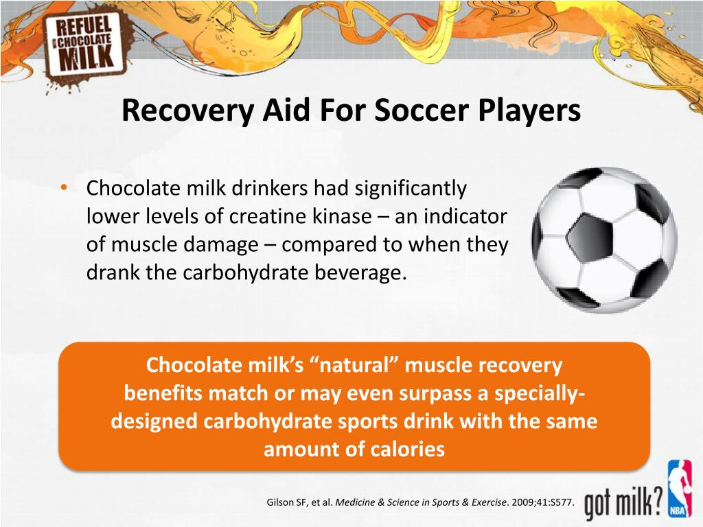 Recovery Aid For Soccer Players