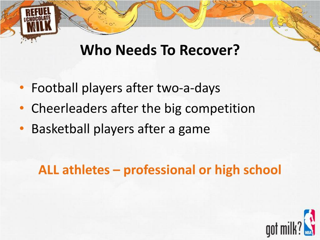 Who Needs To Recover?