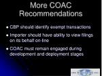 more coac recommendations13