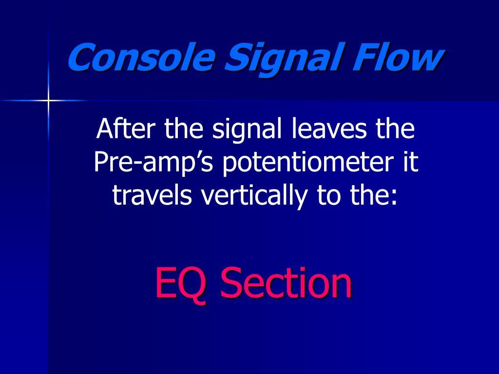 EQ Section
