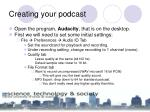 creating your podcast