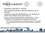 what is a podcast4