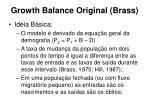 growth balance original brass16