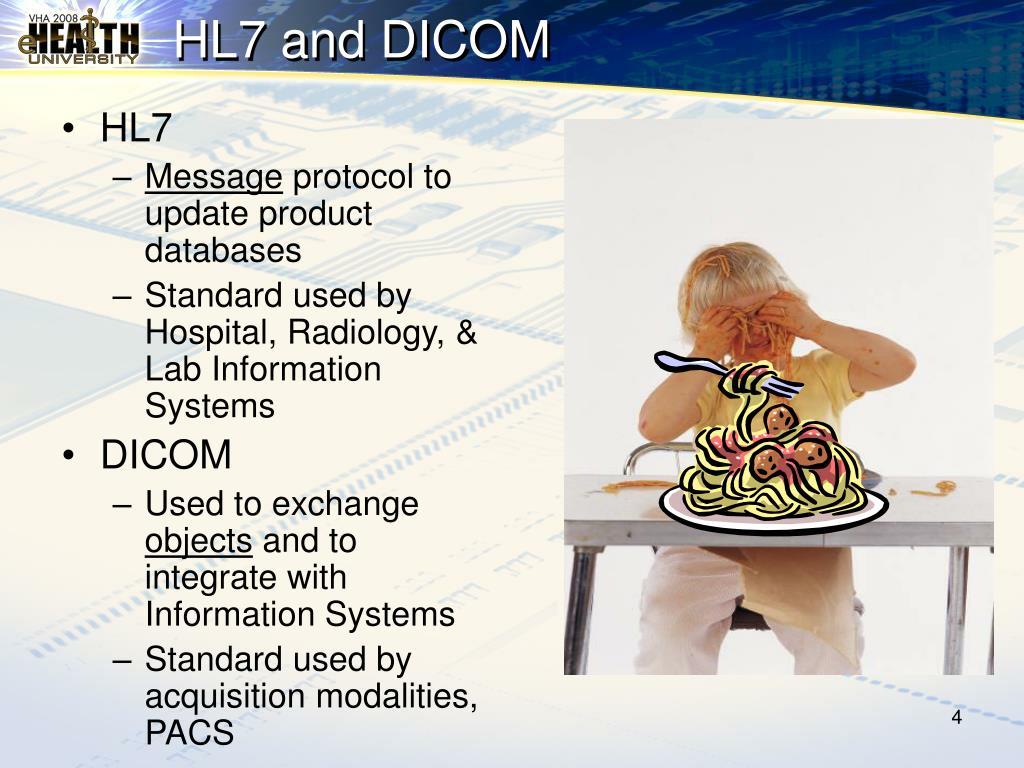 HL7 and DICOM