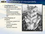 the challenge of interoperability
