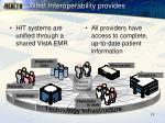 what interoperability provides