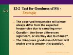 12 2 test for goodness of fit example9