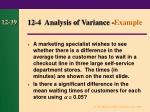 12 4 analysis of variance example