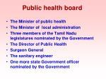 public health board
