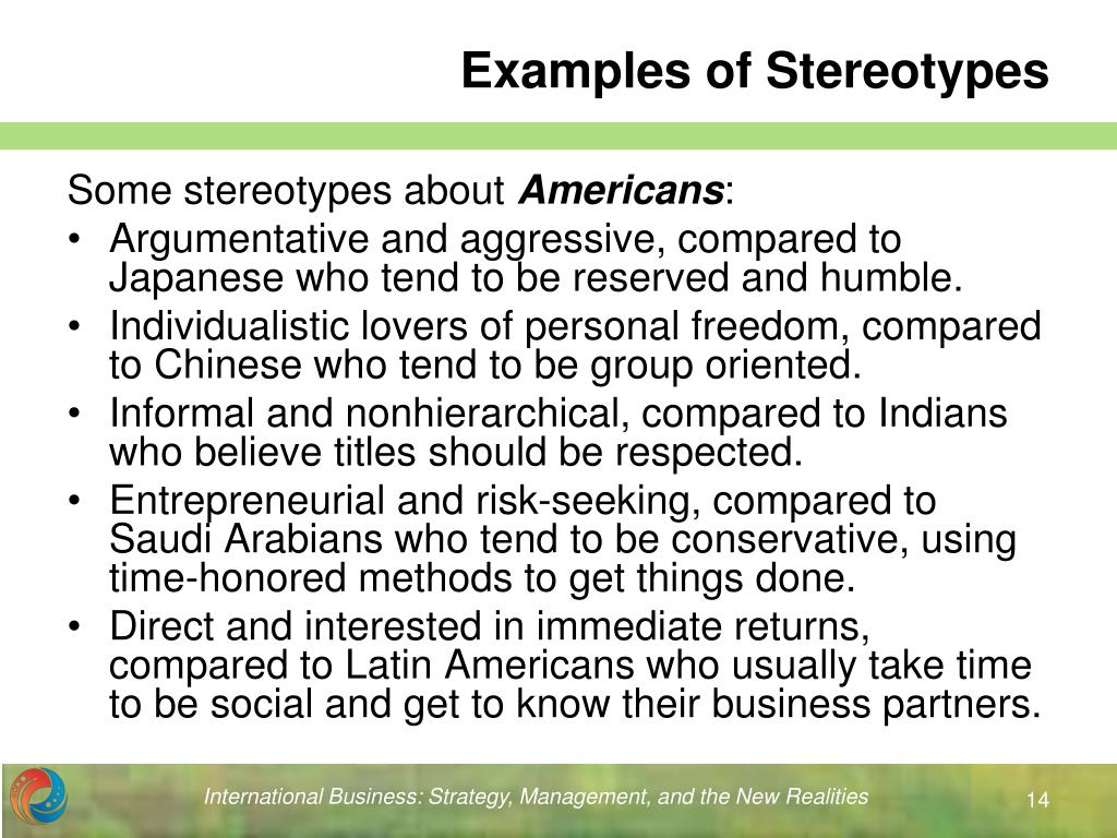 stereotypes about americans