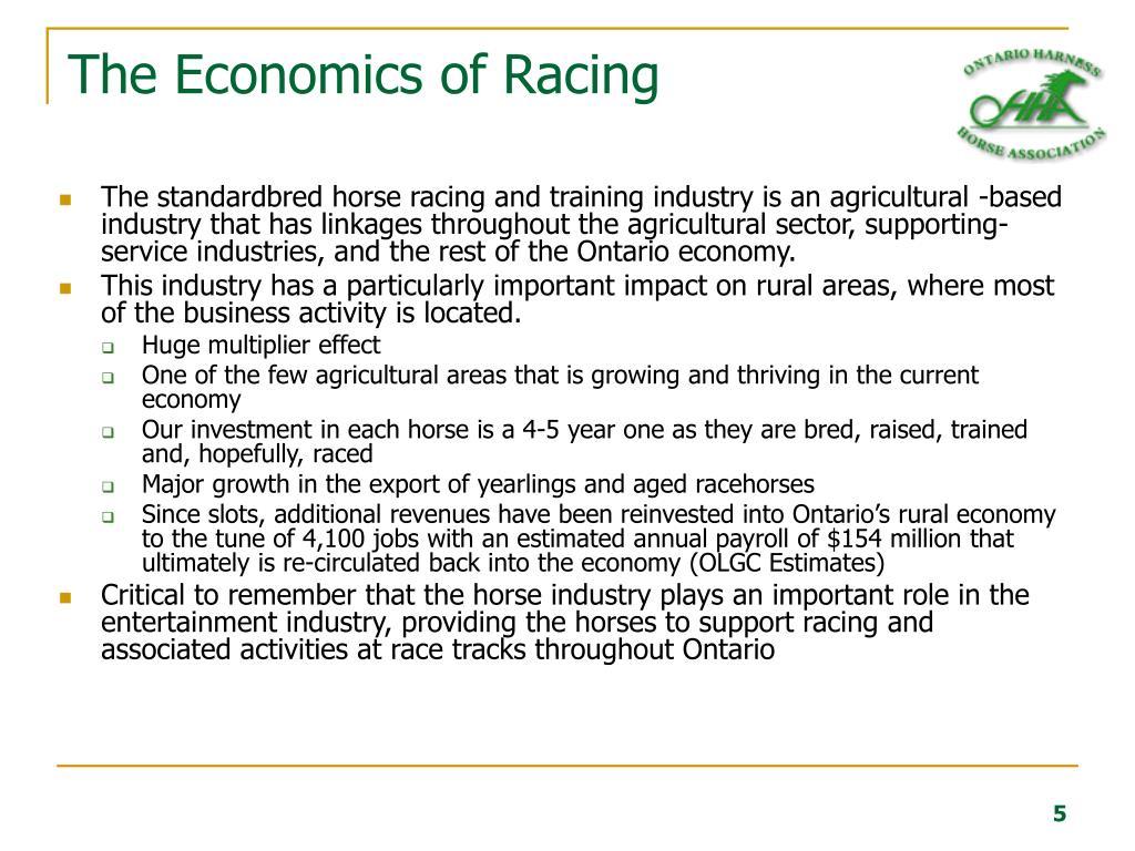 The Economics of Racing