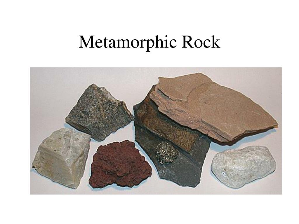 metamorphic rock l.