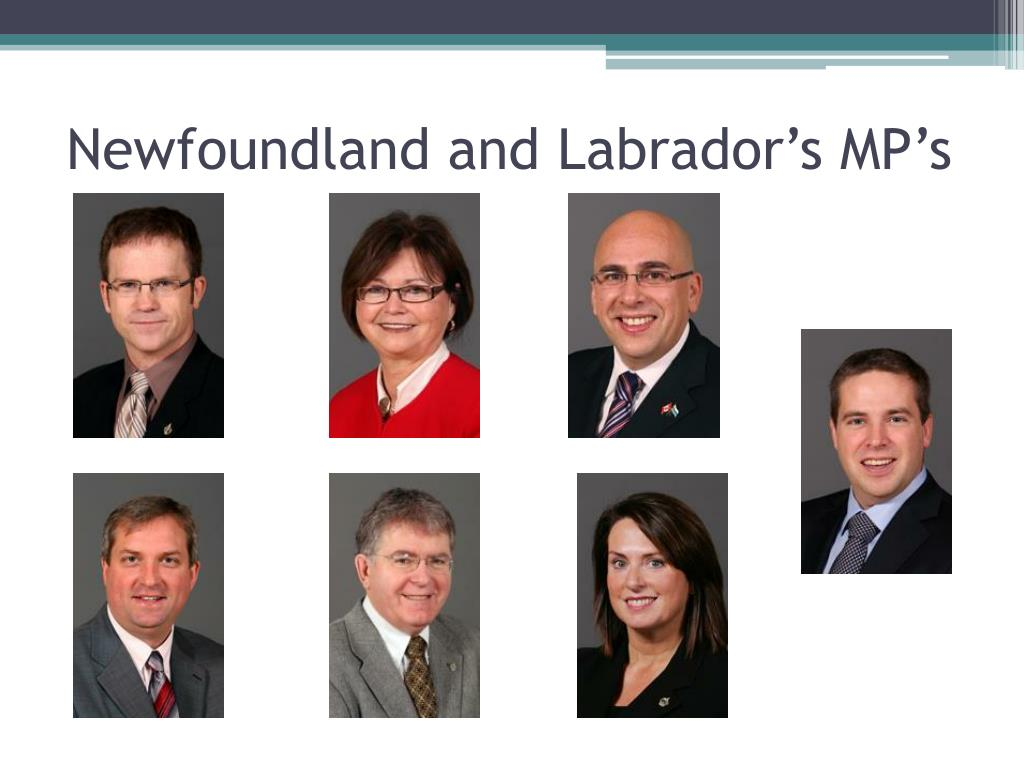 Newfoundland and Labrador's MP's