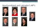 newfoundland and labrador s mp s33