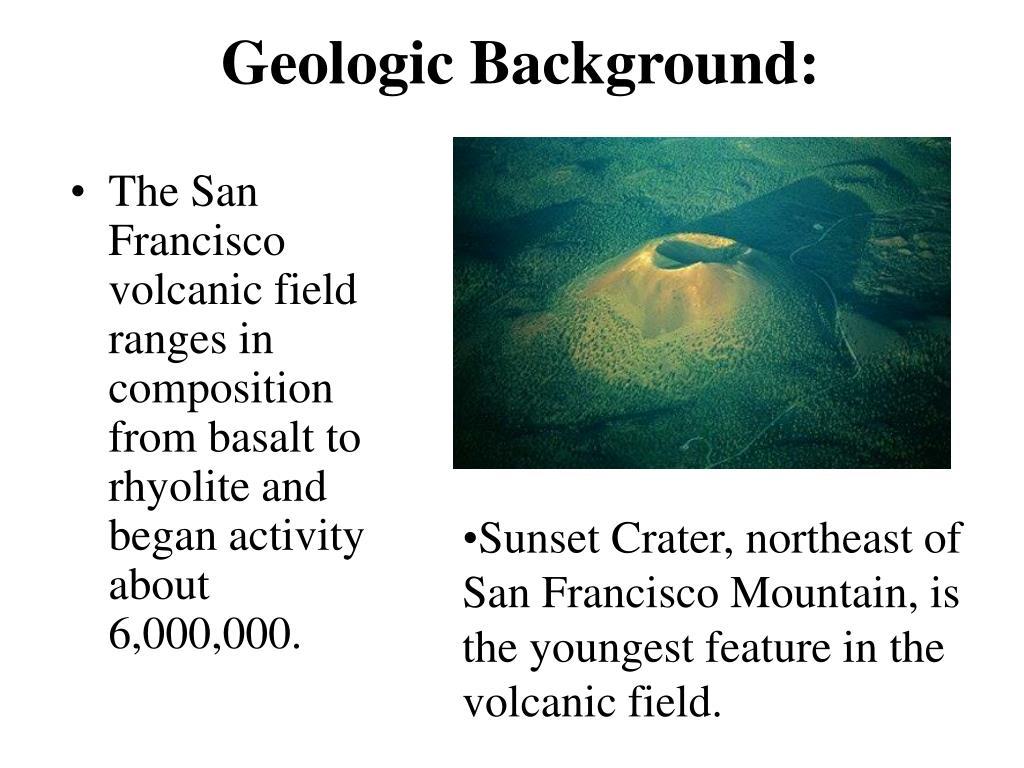 Geologic Background: