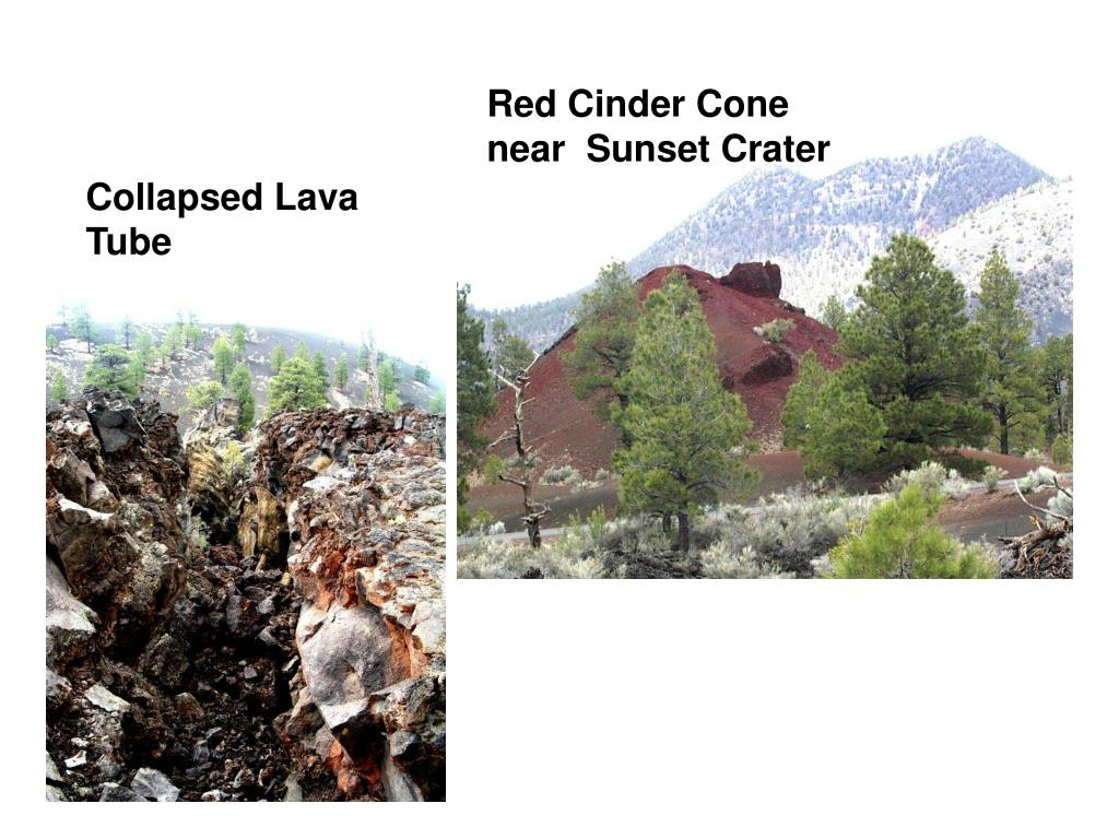 Red Cinder Cone near  Sunset Crater