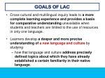 goals of lac11