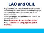 lac and clil