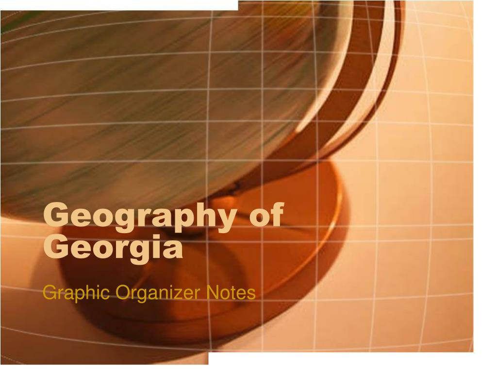 geography of georgia l.