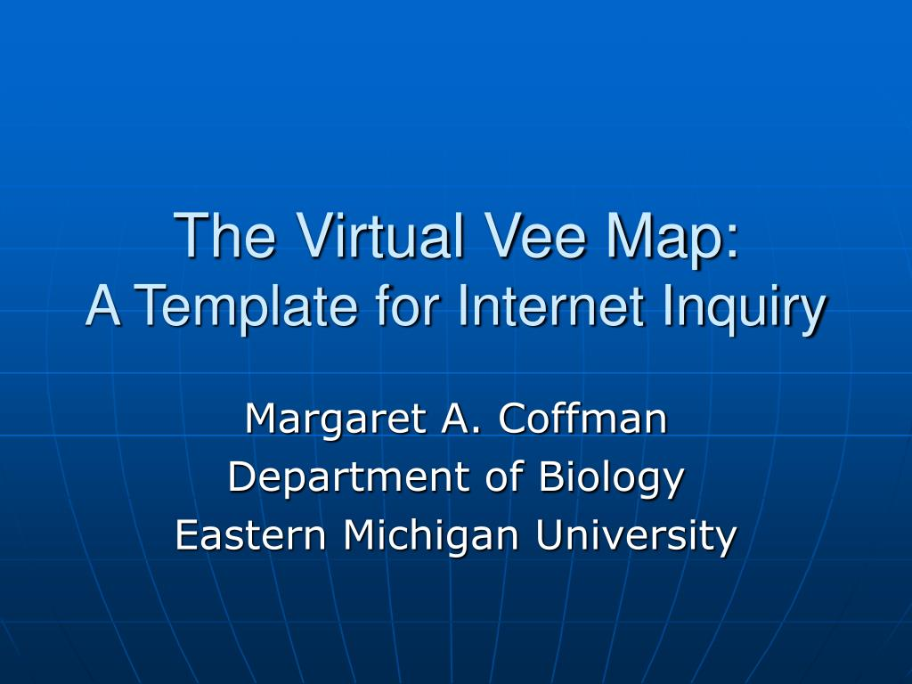 the virtual vee map a template for internet inquiry l.